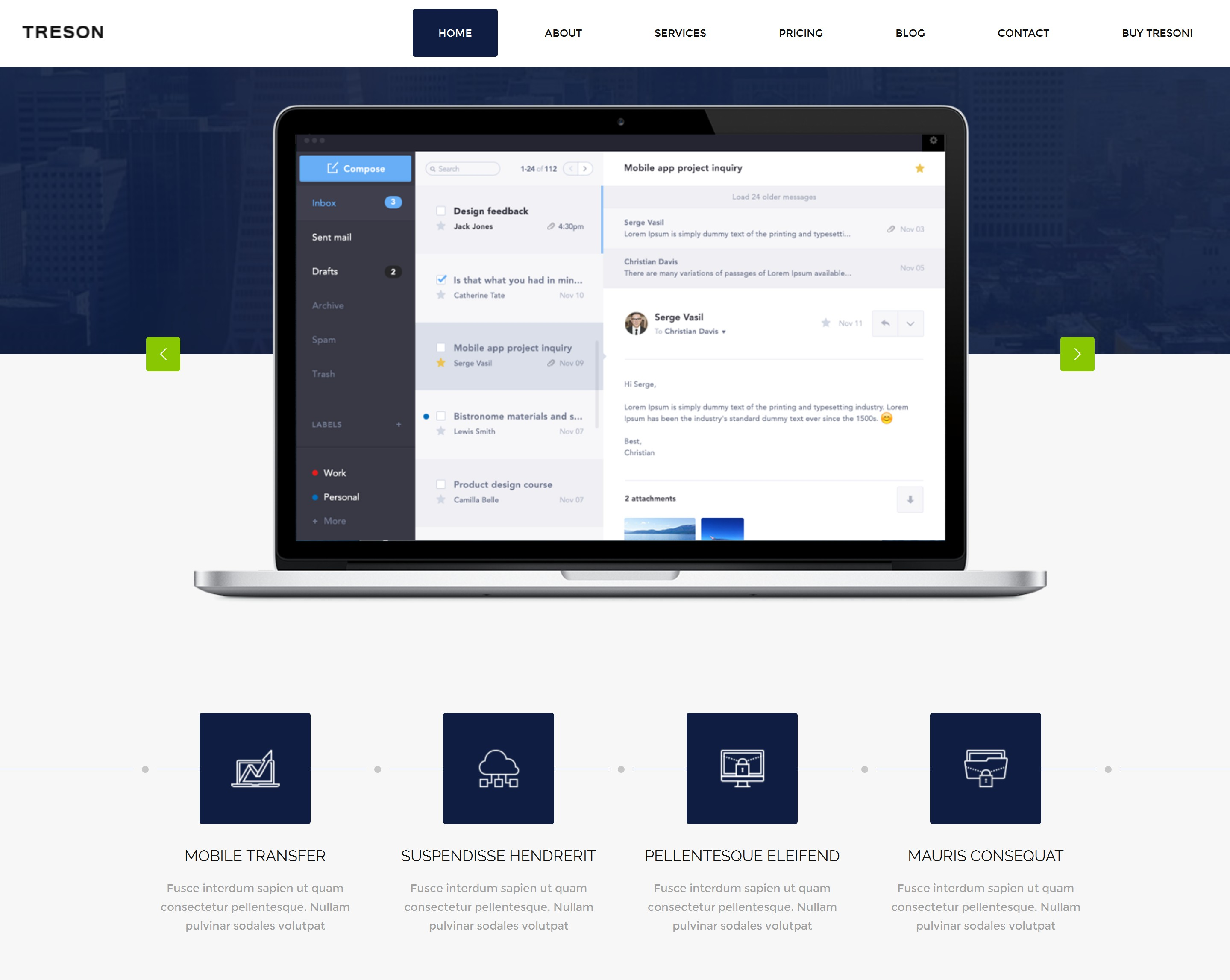 Free Download Bootstrap Simple Theme