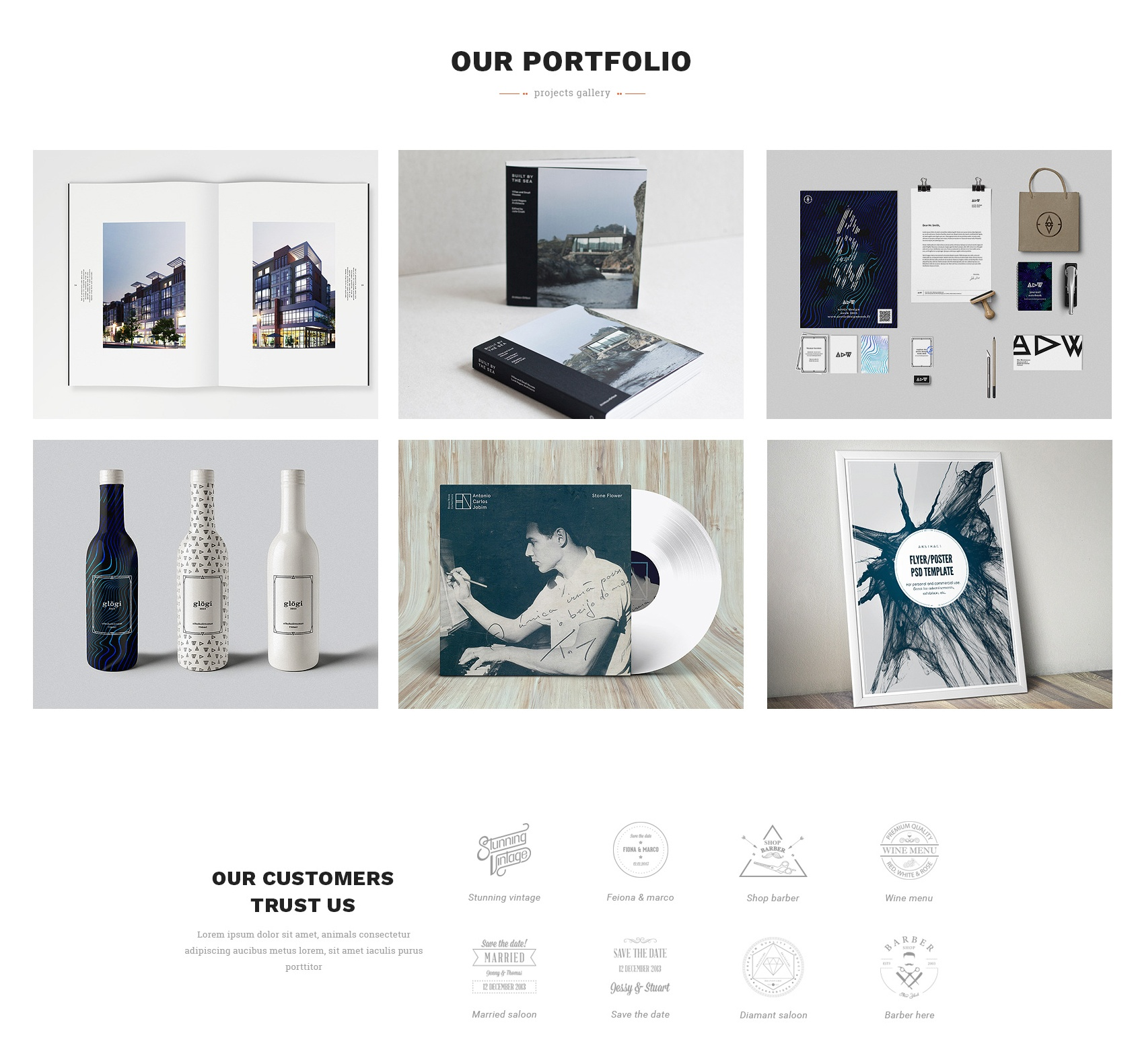 Free Download Bootstrap Gallery Theme