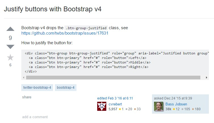 Maintain buttons  by Bootstrap v4